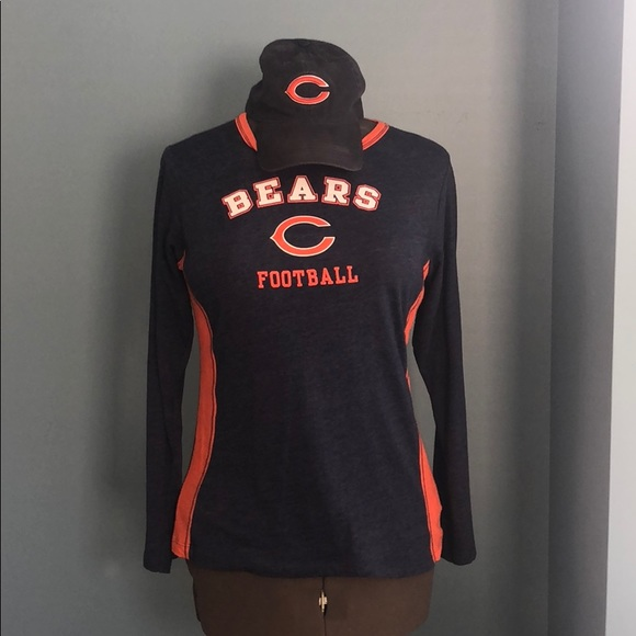197db7f7 2 Piece Chicago Bears Shirt and Hat